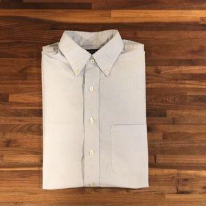 Lands End light blue Men's dress shirt